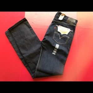NEW! Levis 501 Blue Jeans Selvedge 37Wx40 Button F